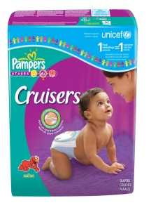 Pampers 1 Pack = 1 Vaccine