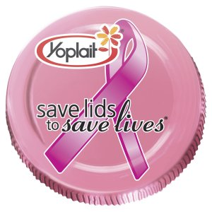 YOPLAIT SAVE LIDS TO SAVE LIVES